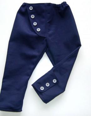 детски панталон с копчета