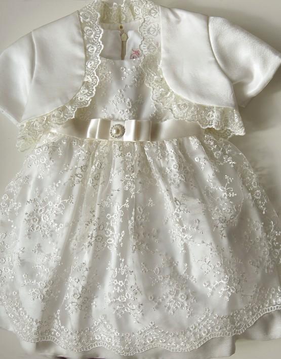 Бебешка дантелена рокля
