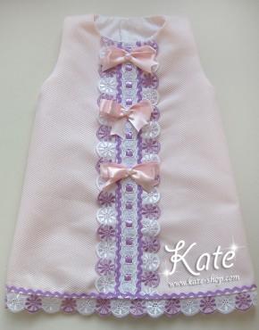 Бебешка рокличка розова