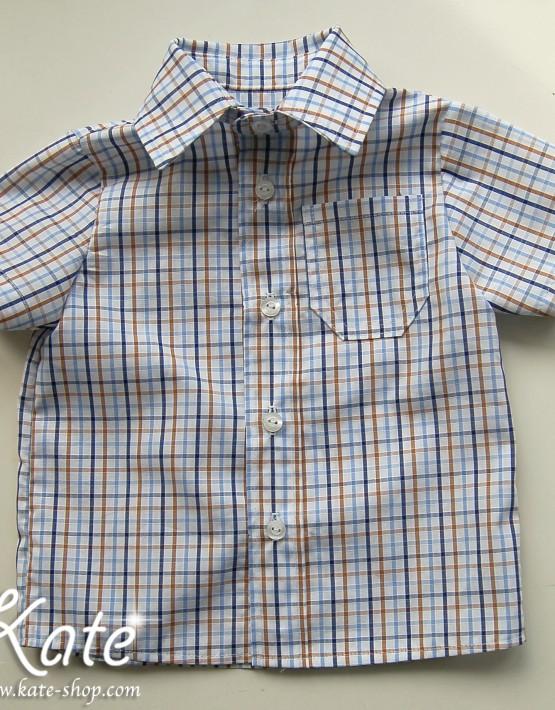 Детска риза каре