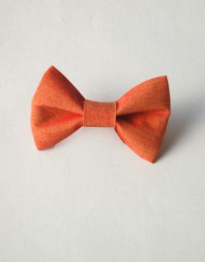 Детска папионка - оранжева