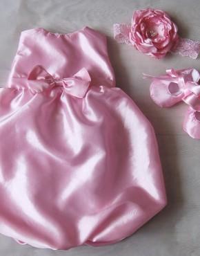 Бебешка рокля балон