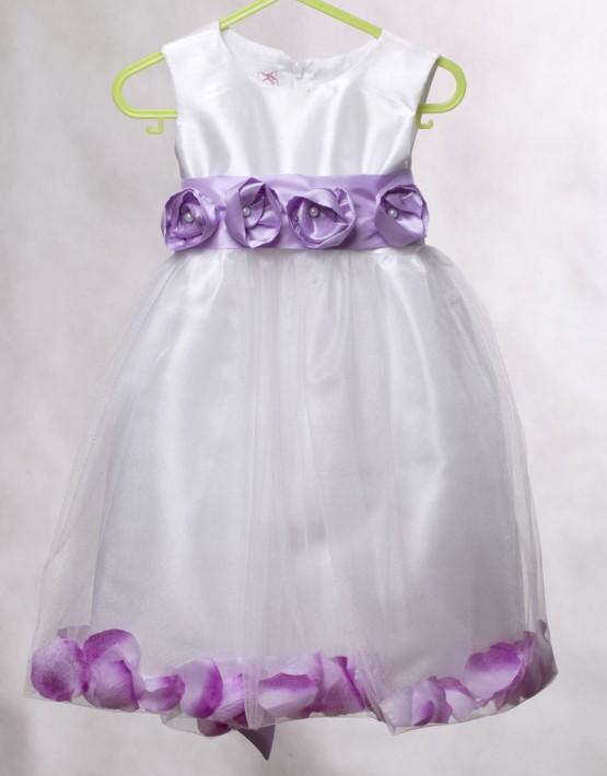 Официална рокля с листа