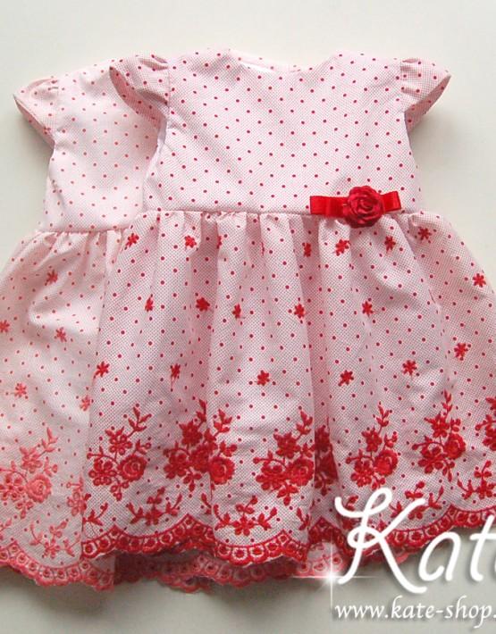 Бебешка рокличка с бродерия